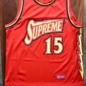 Supreme Shirts - Supreme bolt jersey
